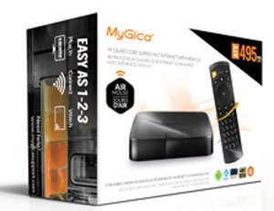 ATV-495PRO HDR: MyGica Android 6.0 TV Box 4K Quad Core Smart TV Box Internet with HDMI 2.0
