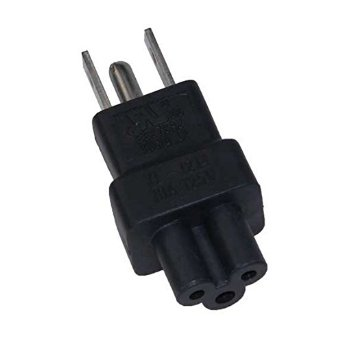 A-515PC5MF: 5-15P Male to C5 Female power adapter