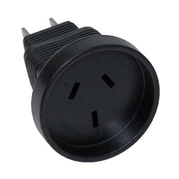 A-AS3112515PFM: Australia AS3112 receptacle to 5-15P power adapter