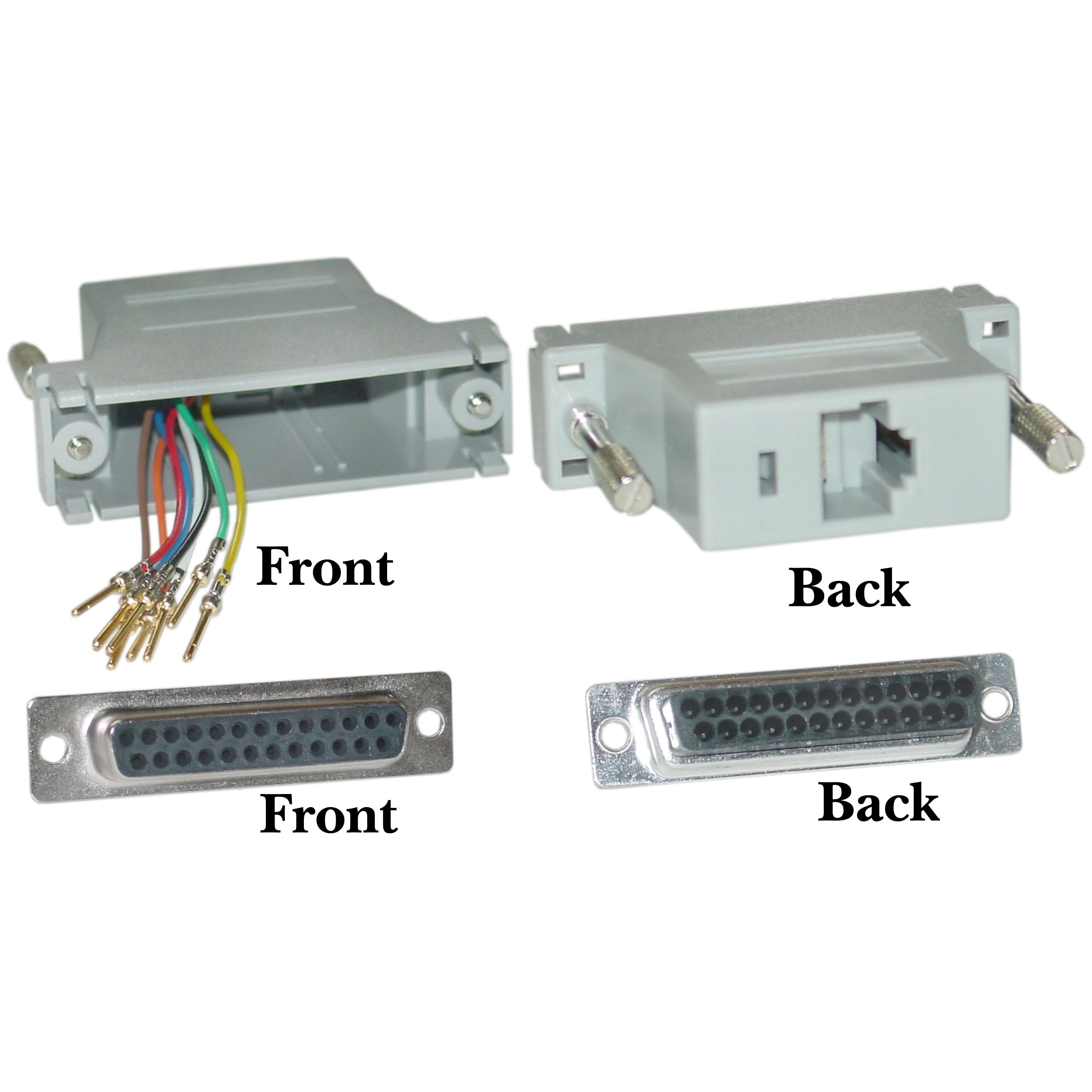 EDD3545 Rj45 To Db25 Wiring Diagram | Wiring Resources on