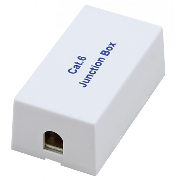 A-RJ4545PP: RJ45 Inline Coupler, Punchdown Cat 6 - White