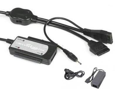 HF-ACC-USB-ISU-BAC: USB 2.0 TO SATA/IDE/2.5/3.5 -3D-DONGL w/power adaptor