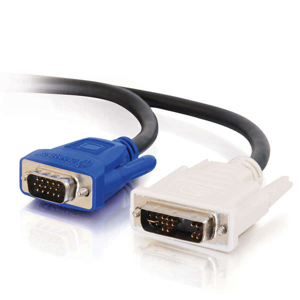 C-DVMM-3: 3 foot (1m) DVI-A male to HD15 male VGA video cable