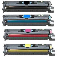 HP C9700A/C9701A/C9702A/C9703A: Compatible TONER CARTRIDGE BLACK/CYAN/YELLOW/MAGENTA