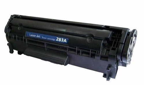 HP CF283X: New Compatible Toner Cartridge for HP Laserjet Black