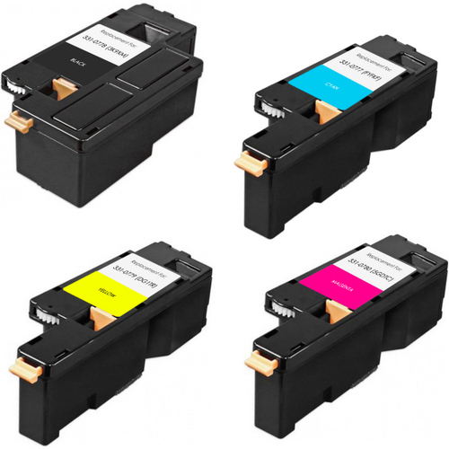 Dell 1250: COMPATIBLE TONER CARTRIDGE BLACK/CYAN/MAGENTA/YELLOW