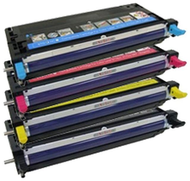 Dell 3110/3115: Reman TONER CARTRIDGE BLACK/CYAN/MAGENTA/YELLOW