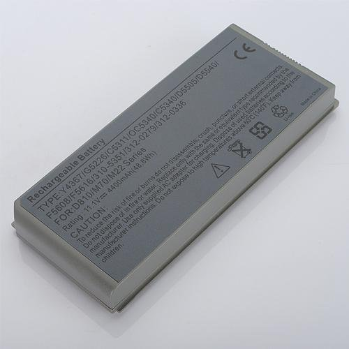 Dell-D810: New Laptop Replacement Battery for DELL Latitude D810