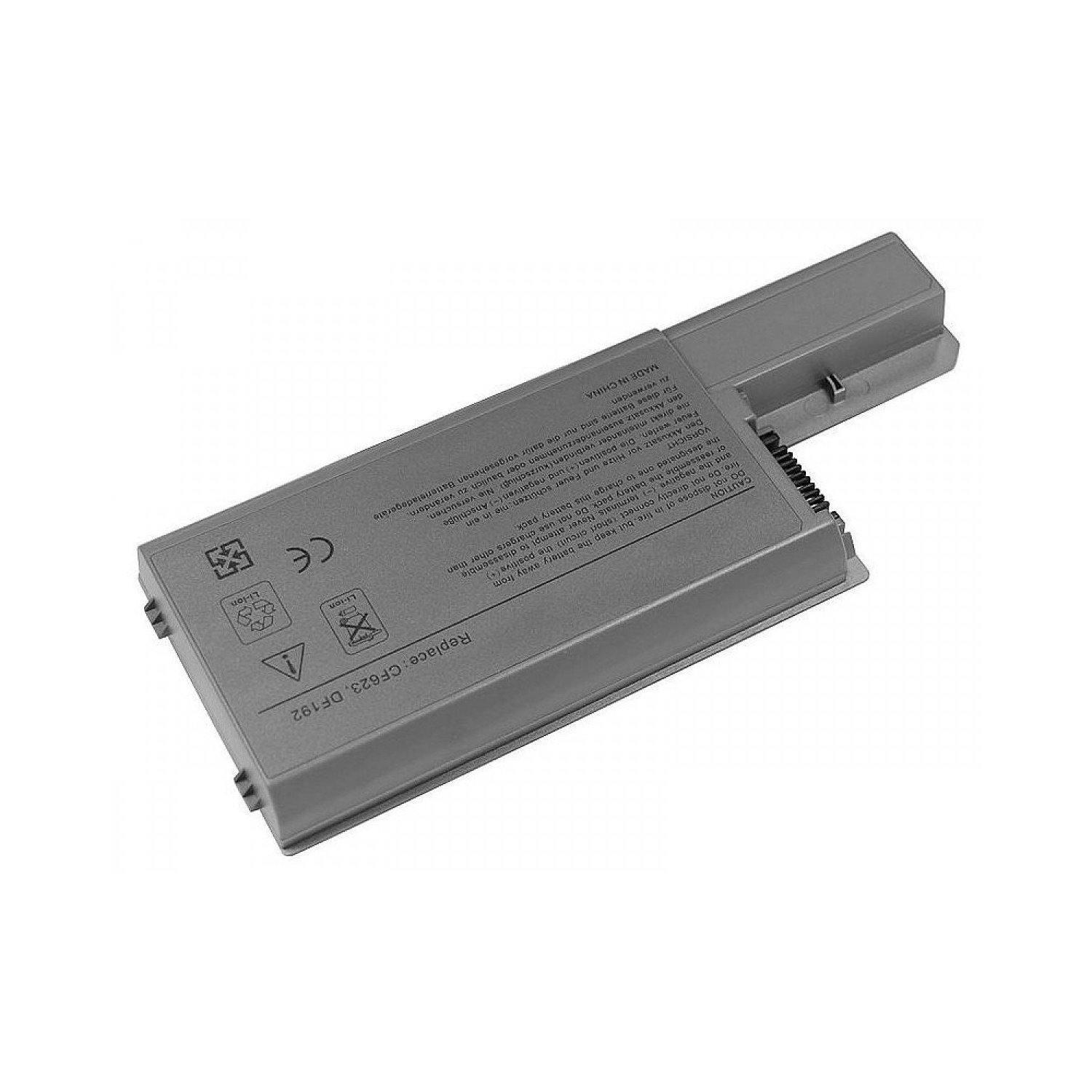 Dell-D820: Laptop Battery 6-cell for Dell Latitude D820 D830 D531 D531N Precision M65 M4300 M4300 CF623 YD623