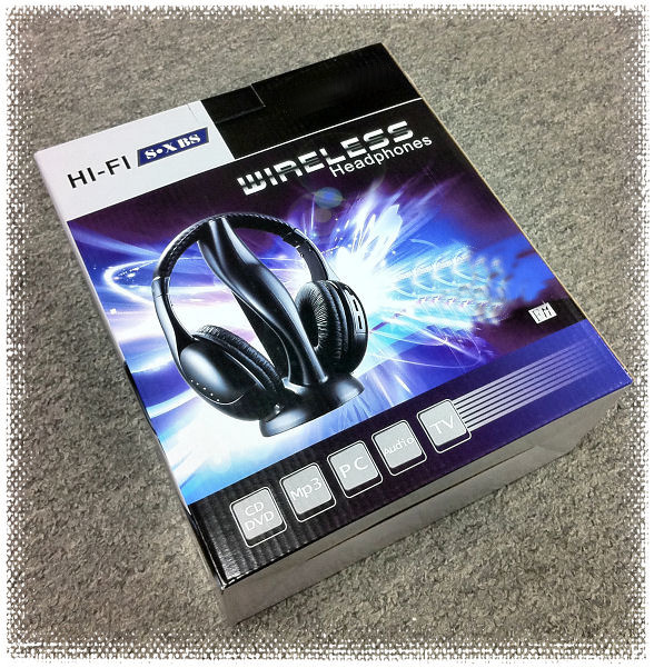 HF-HEADSET-DP005: WirelessHeadset5IN1 w/FM Black