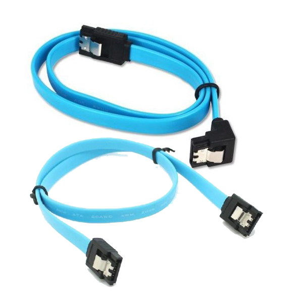 HF-CAB-SATA-P05: SATA 3.0 DATA Cable 2PCS (PURE COPPER)