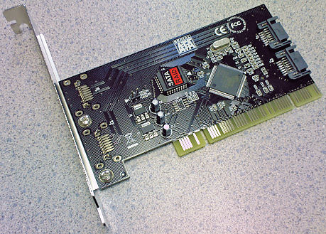 HF-CARD-SATA3112: Syba PCI to SATA150 Host card w/Raid