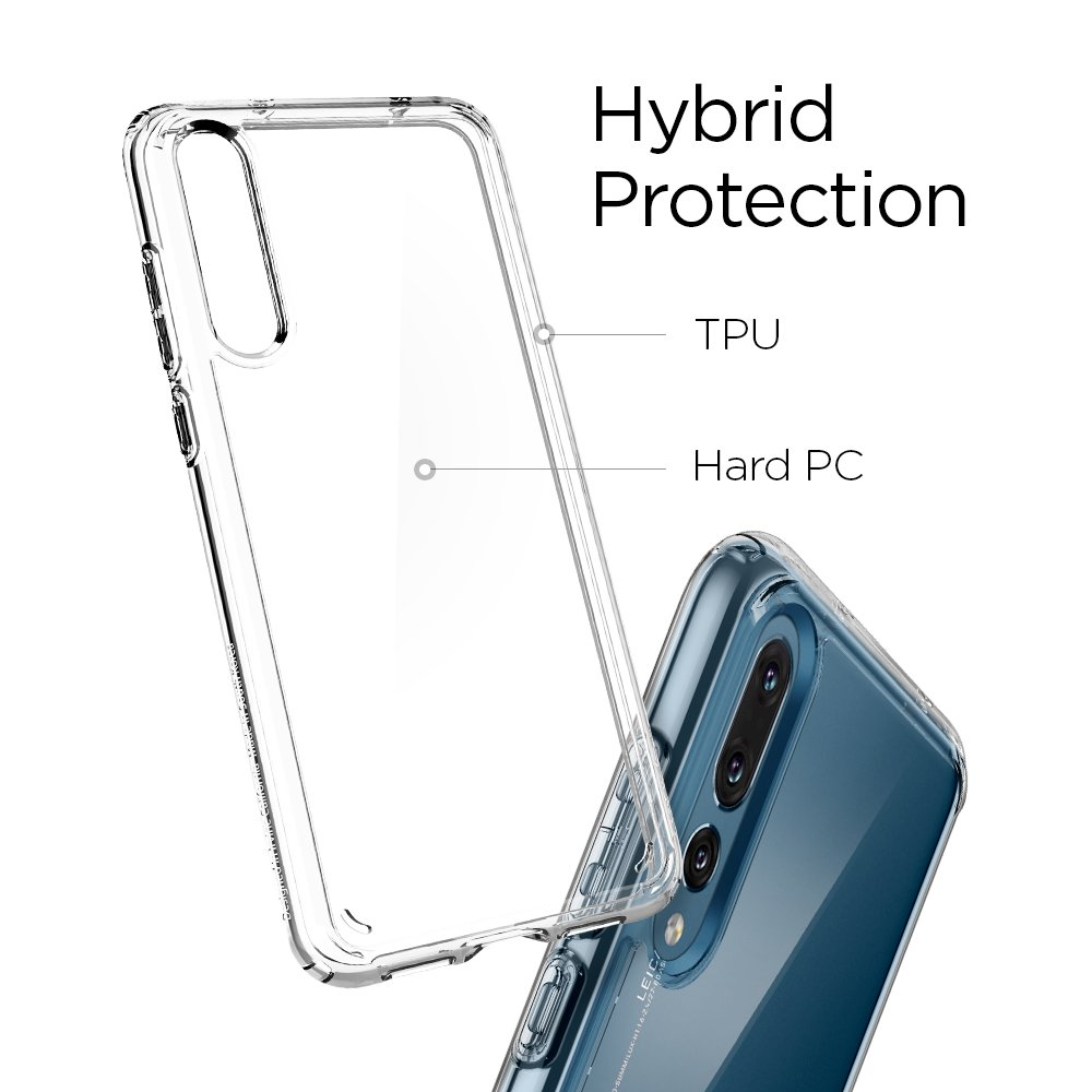 HF-HSPC-C: Clear TPU Protective Case FOR Huawei Smart Phones