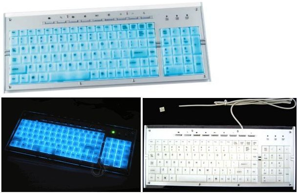 HF-KB-LK-9840: USB Multimedia Light-Up Keyboard