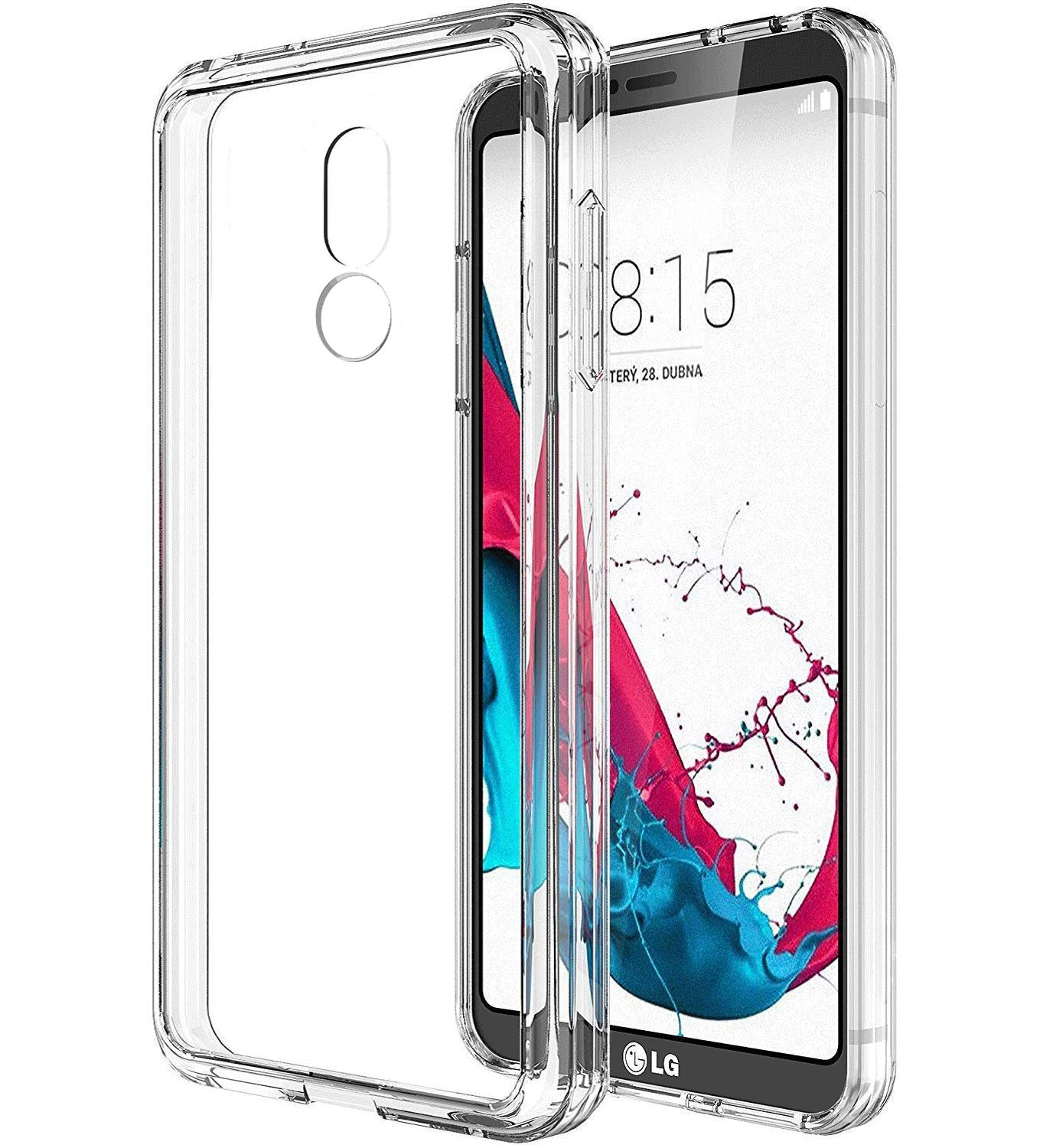 HF-LGPC-C: Clear TPU Protective Case FOR LG Smart Phones