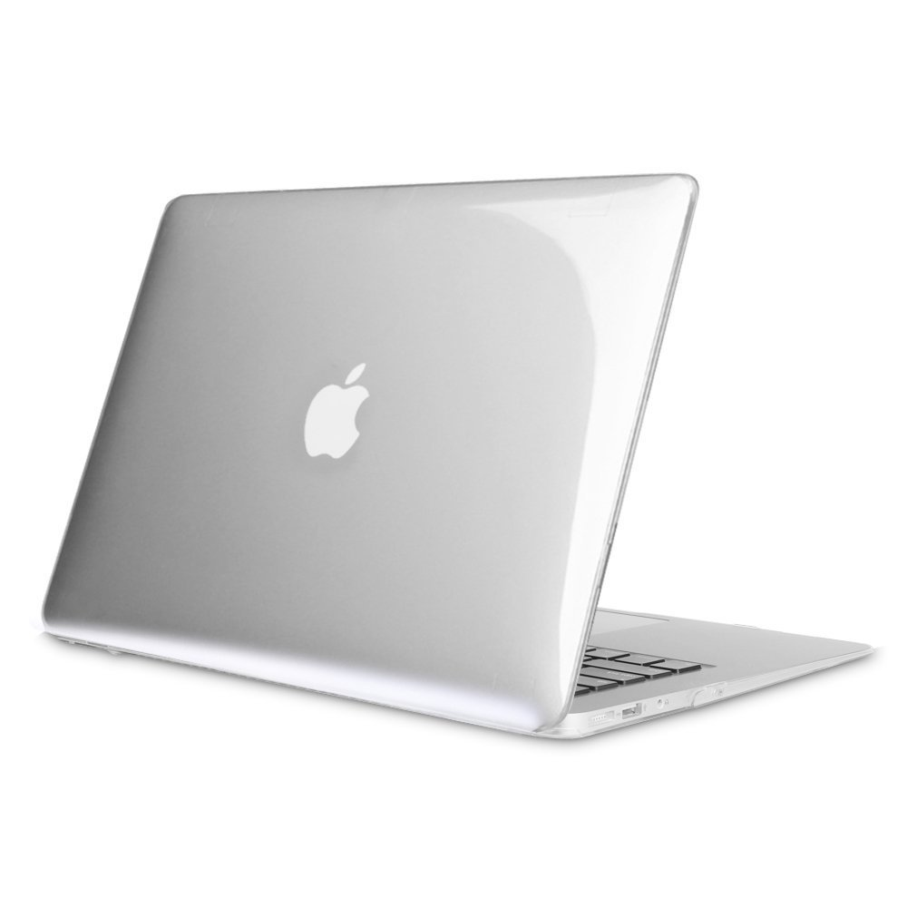 "HF-MBA-CSC: MacBook Air 13 Inch Ultra Slim Snap On Protective Case For Apple MacBook Air 13.3"" (A1466 / A1369), Crystal Clear"