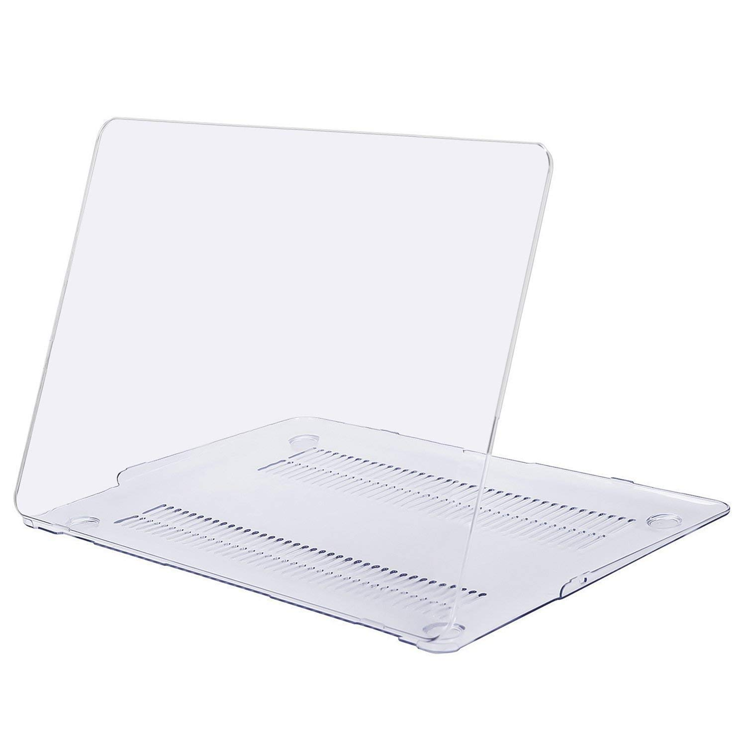 HF-MBA11-CSC: Plastic Hard Case Cover Compatible with MacBook Air 11 Inch (Models: A1370 and A1465), Crystal Clear