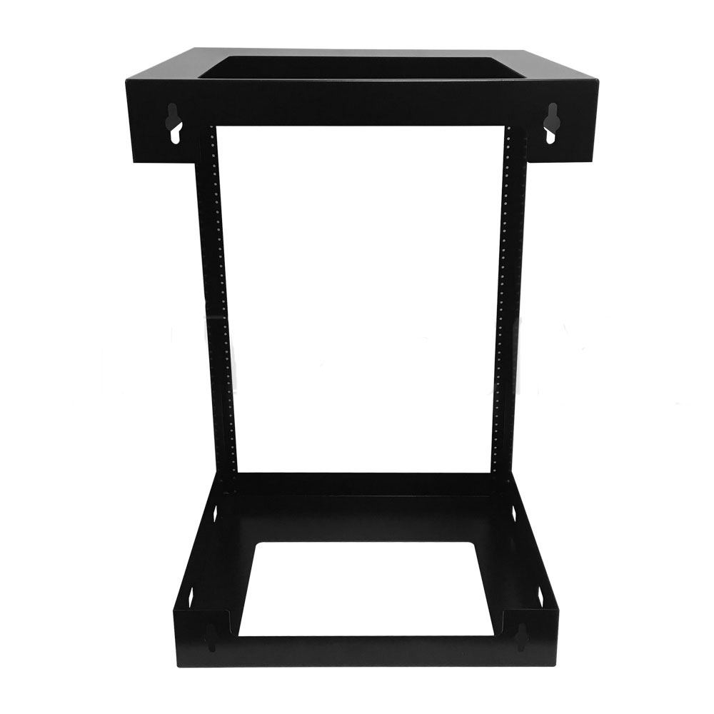 HF-OFW-15U: 19 inch Open Frame Wall Mount Rack - 18 inch Depth - 15U