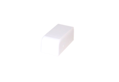 HF-RW-104-WH: Perplas Raceway End Cap Type-1 - White