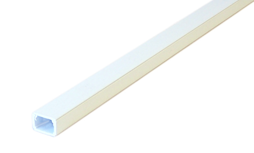 HF-RW-200-WH: Perplas 6ft Raceway with Adhesive Tape Type-2 1 1/4 inch x 5/8 inch - White