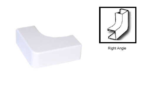 HF-RW-206-WH: Perplas Raceway Right Angle Type-2 - White