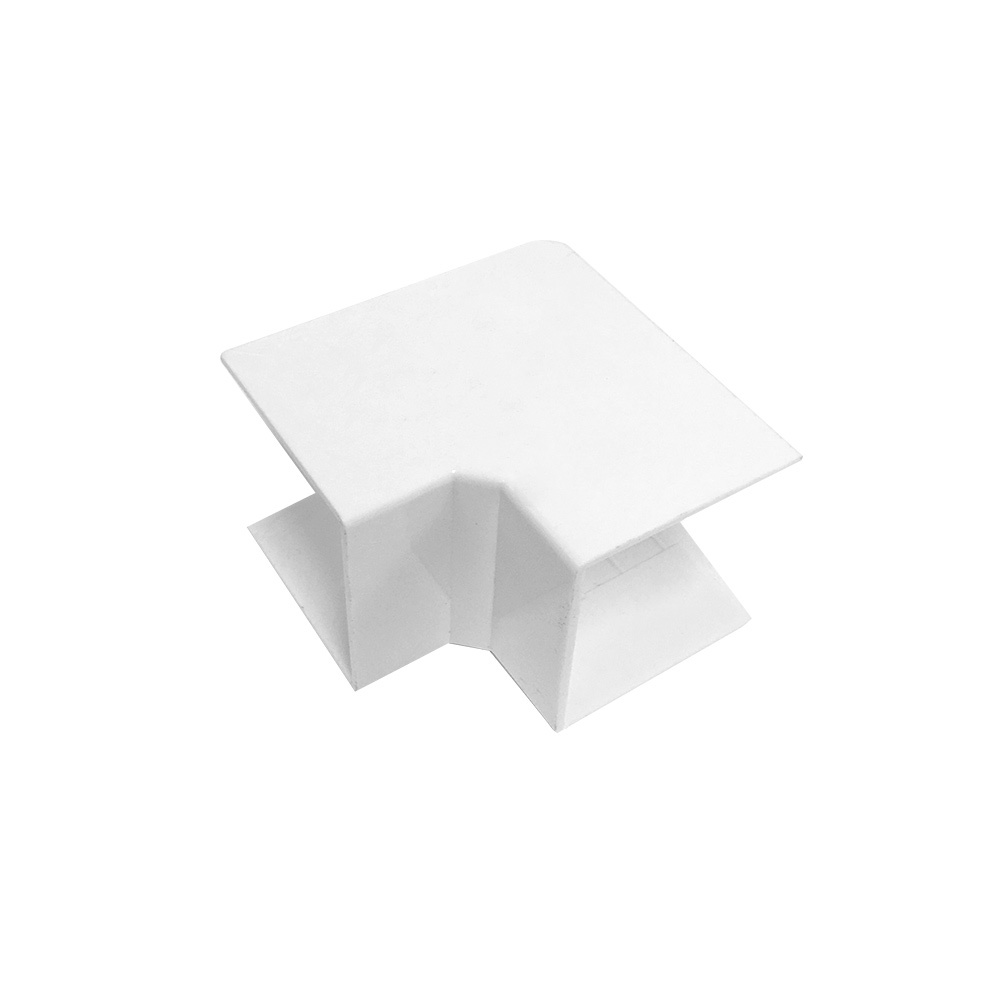 HF-RW-5050N-WH: Inside Corner for 50mm x 50mm Raceway - White