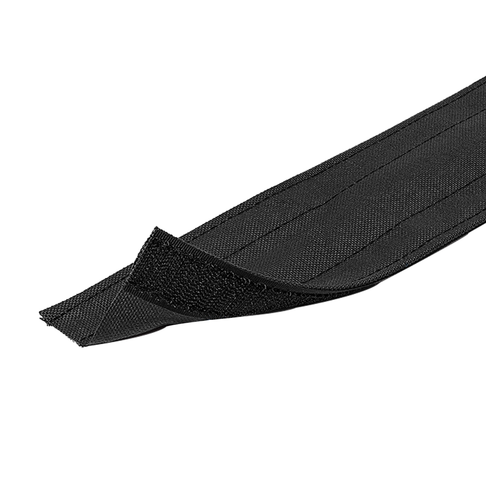 HF-RW-CC4-BK: Carpet Cable Cover, 4 Inch Wide, Black (per foot)