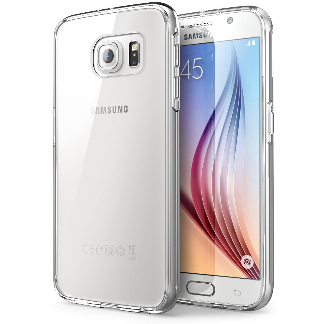 HF-SAMPC-C: Clear TPU Protective Case FOR Samsung Smart Phones