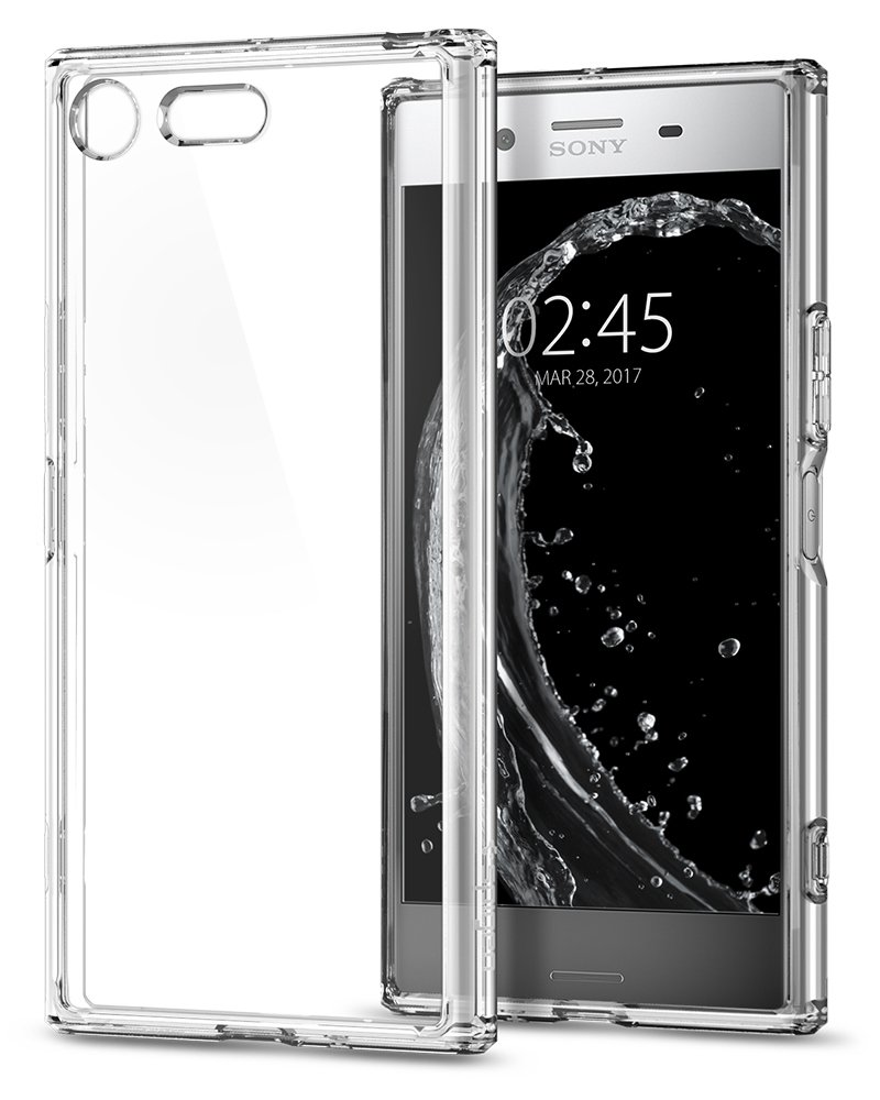 HF-SYSPC-C: Premium Protective TPU Clear Case for Sony Smart Phone