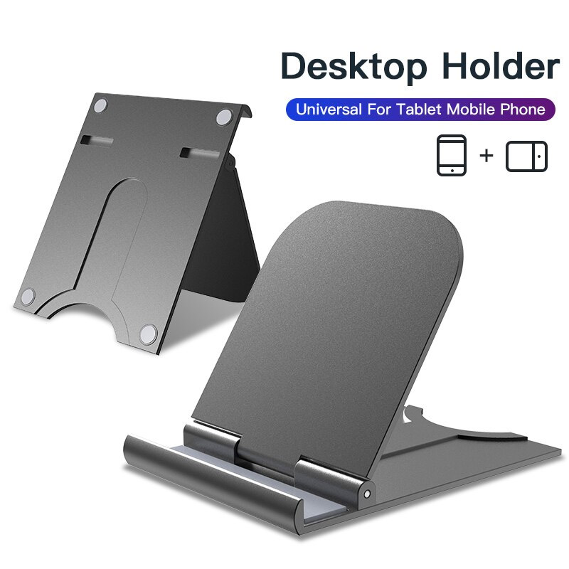 HF-UPH06: Universal Desktop Holder Phone Bracket Stand 180 Degree Adjustable Support Mini Size Tablet ipad