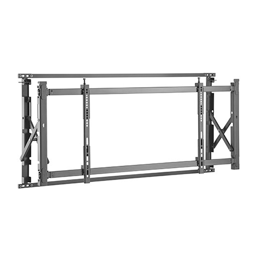 HF-VWM-1516: Super Slim Video Wall TV Mount Bracket, Portrait or Landscape - Fits Sizes 55-60 inches - Maximum VESA 800x600