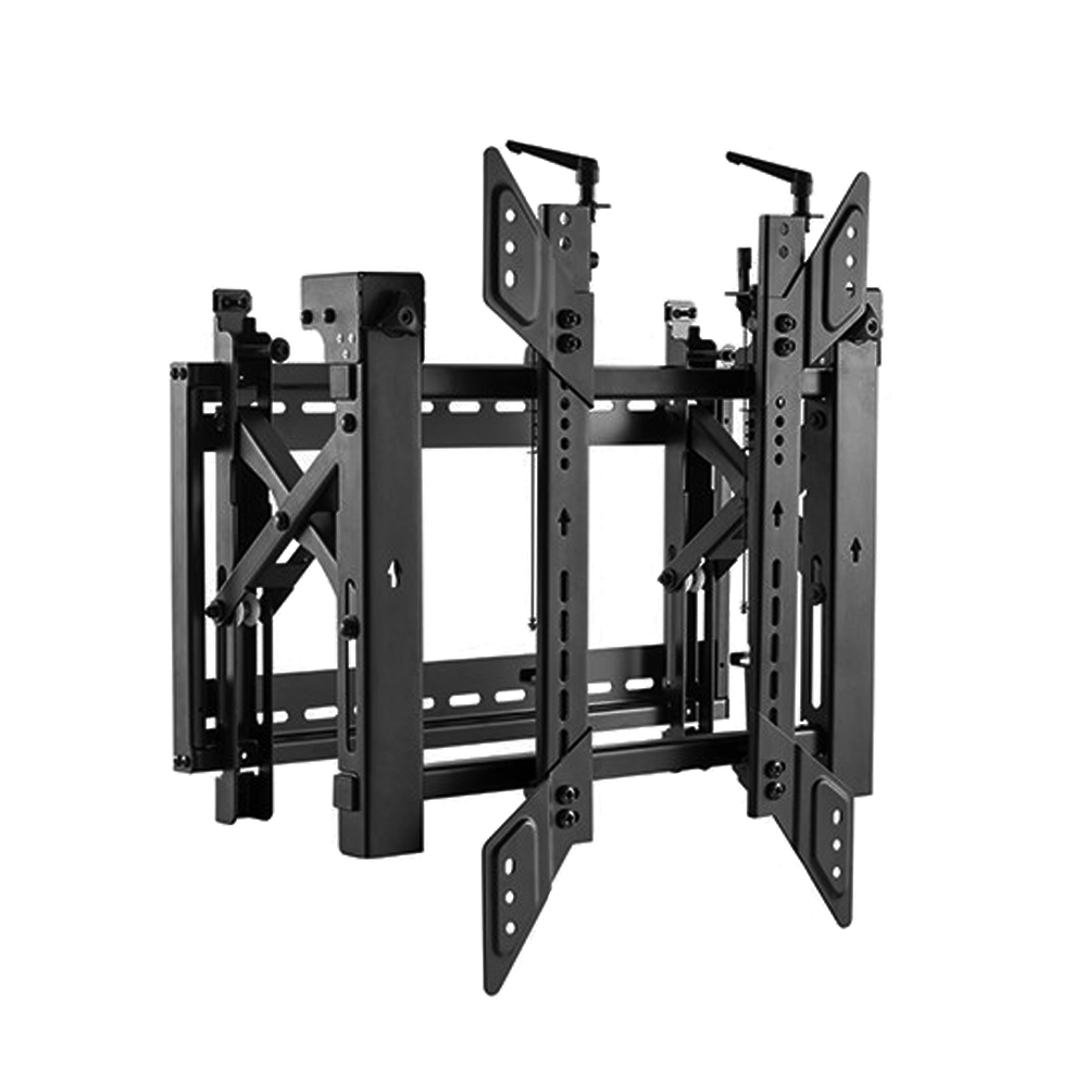 HF-VWM-1520: Video Wall Portrait TV Mount Bracket, Fully Adjustable - Fits Sizes 45-70 inches - Maximum VESA 600x400