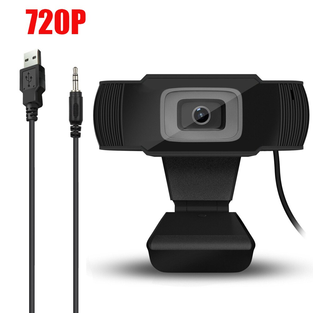 HF-WC2-1: HD 720P Webcam CMOS 30FPS USB 2.0 Built-in Microphone Webcam HD Camera for Desktop Computer Notebook PC