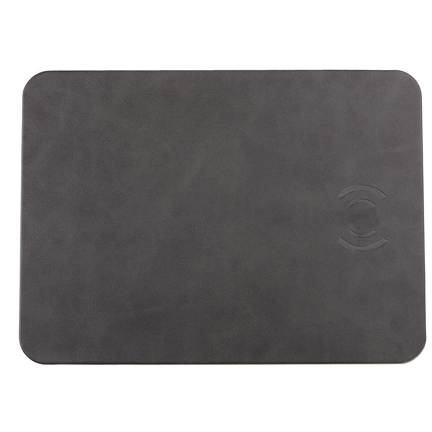 HF-WMC: Mouse pad with Wireless Charger, Qi Certified 10W Fast Wireless Charging Pad