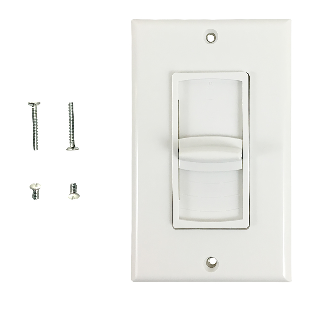 HF-WPK-V100W: Volume Control Decora Wall Plate, 100W Impedance Matched Slider