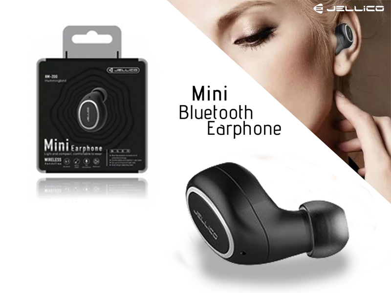 HM-200: Jellico HM-200 Mini In-Ear Bluetooth Wireless Earphone For Mobile Phone