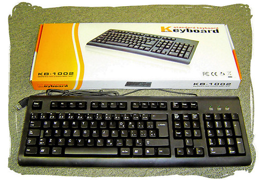 HF-KB-1002: Canadian-French USB Keyboard
