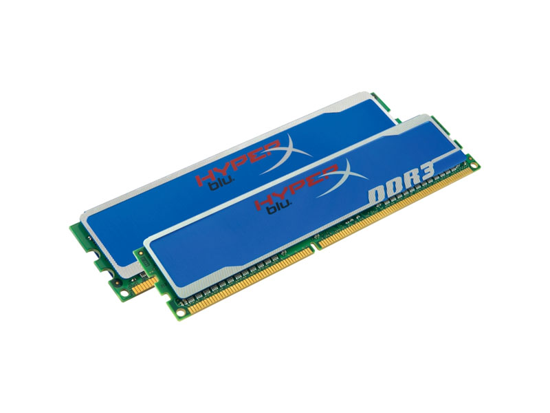 "KHX1600C9D3B1K2/8GX"" Kingston KHX1600C9D3B1K2/8GX 8GB Kit 2X4GB 1600MHz DDR3 240PIN DIMM Unbuff Hmp HyperX CL9"