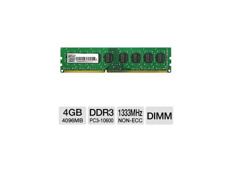 KVR13N9S8/4: Kingston 4GB DDR3 1333MHz CL9 DIMM