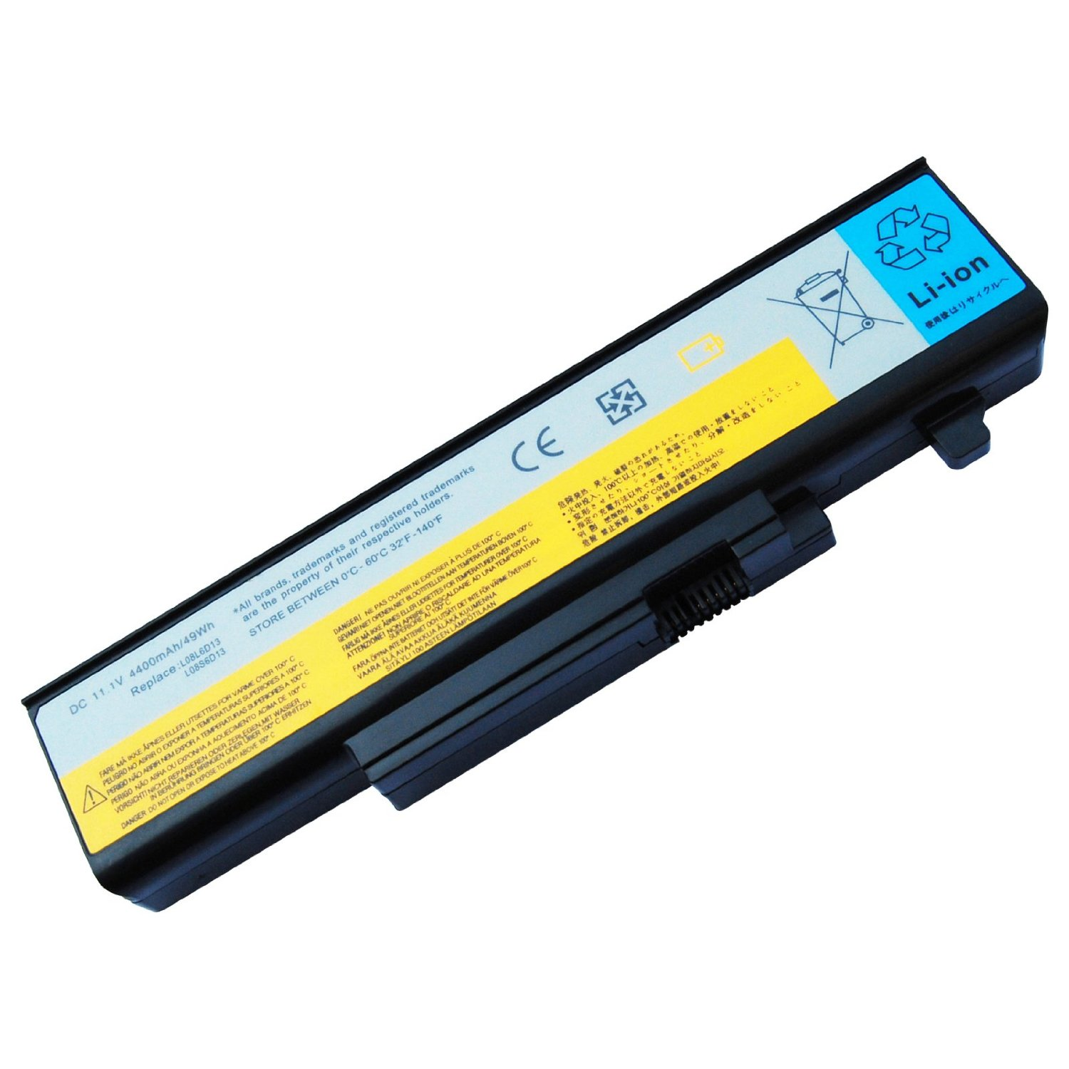 LENOVO-Y450 Y550: Laptop Battery 6-cell for LENOVO IdeaPad Y450G IdeaPad Y550 4186 IdeaPad Y550 IdeaPad Y550A Y550P