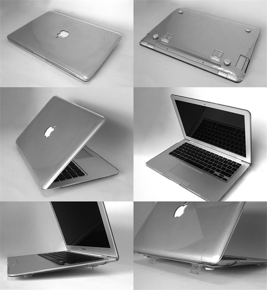 "MA-PC: 11/13/15"" Macbook Air Full body protective Clear hard case"