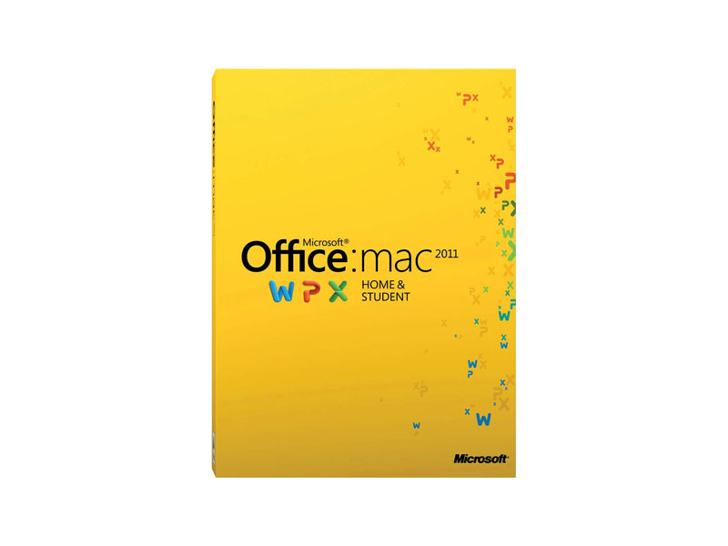 MS-OFFICE-2011-HS-PKC-MAC: Microsoft Office For Mac Home and Student 2011 (GZA-00136)