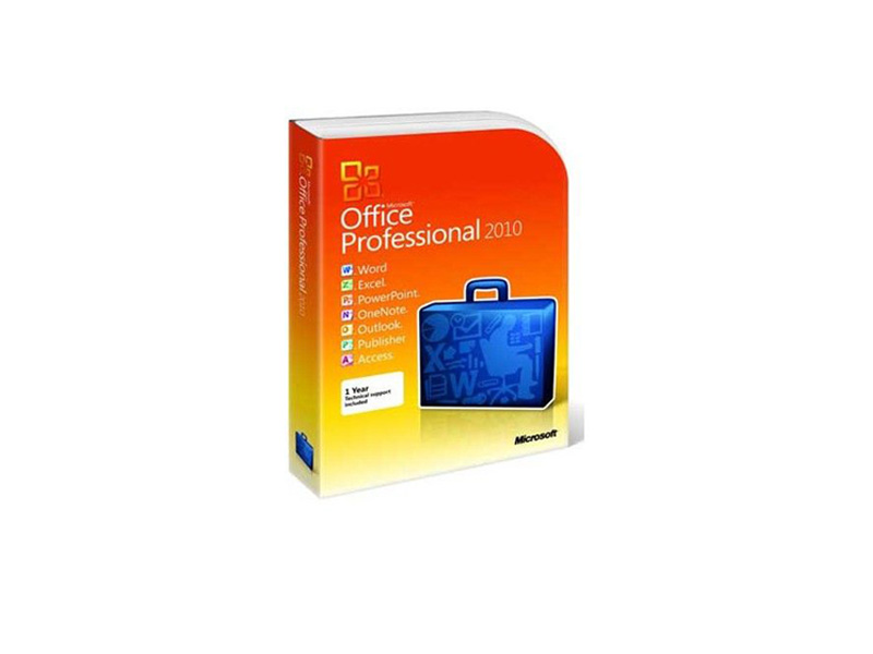 MS-OfficePro-2010-PKC: Microsoft Office Professional 2010 Product Key Card