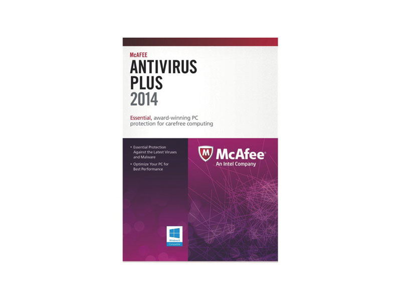 Mcafee-AntiVirus-2014-1user: Mcafee Antivirus Plus 2014, Bilingual