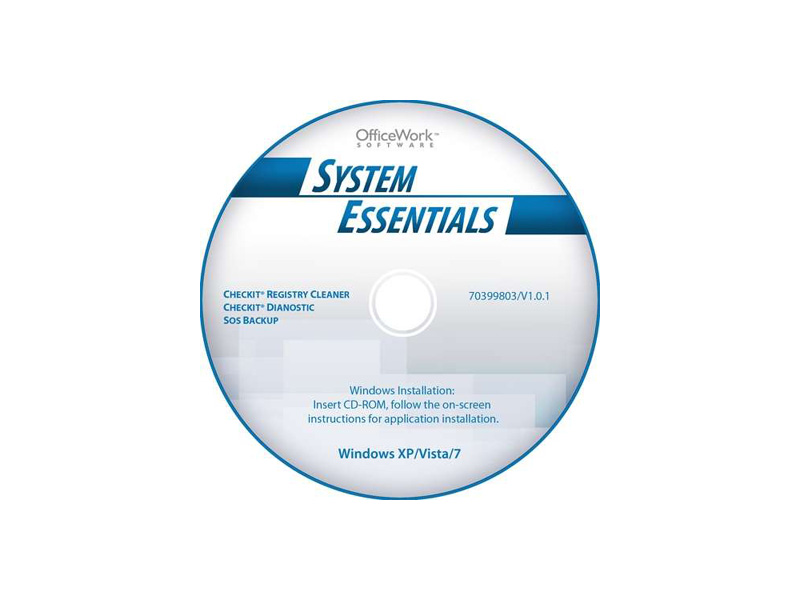OfficeWork-SystemMaintain: OfficeWork Software 70399803 System Essentials Software Bundle