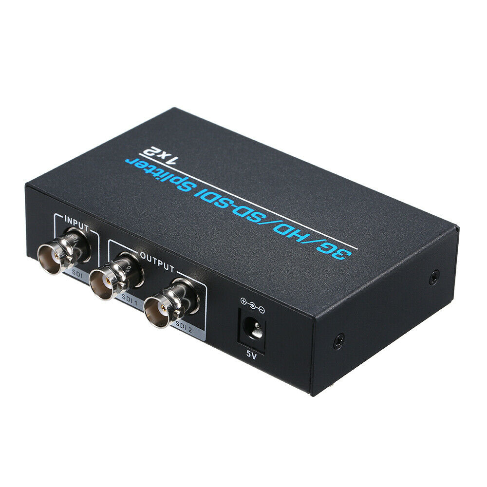 SS102: 1x2 3G SDI Splitter & Repeater