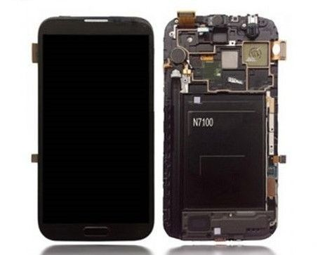 SamN2-GL: SAMSUNG Galaxy NOTE2 N7105/i317 LCD&DIGITIZER ASSEMBLY WITH FRAME