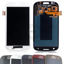 SamS3-GL: SAMSUNG Galaxy S3 i747/T989 LCD&DIGITIZER ASSEMBLY WITH FRAME