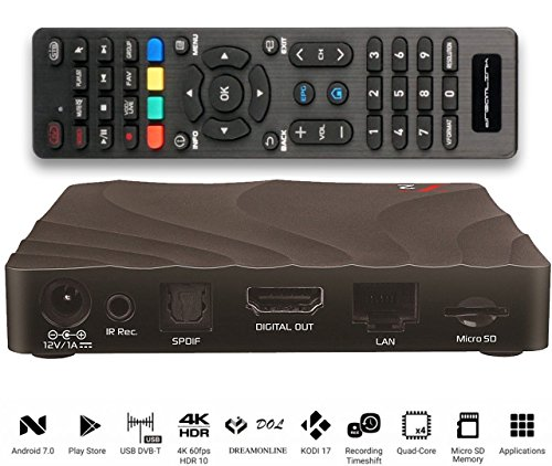 Dreamlink T2: IPTV TV BOX Quadcore Android 7.0 + PVR recording 4K