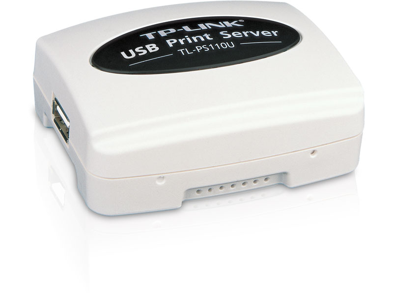 TL-PS110U: Single USB2.0 Port Fast Ethernet Print Server